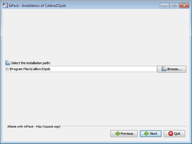 Calibre2Opds InstallLocation.jpg