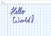 Handwritten Hello world.PNG